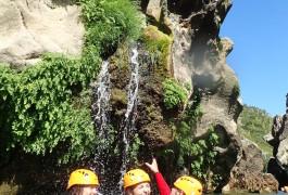 Canyon Du Diable Dans Les Gorges De L'Hérault En Occitanie à Saint-Guilhem Le Désert