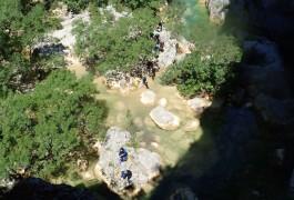 Canyon Du Ravin Des Arcs Près De Montpellier En Occitanie Avec Entre2nature
