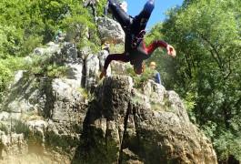 Canyon Du Ravin Des Arcs Dans L'Hérault Près De Montpellier Avec Entre2nature