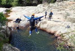 Canyon Du Rec Grand Dans L'Hérault Près De Béziers Et Montpellier