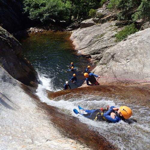 Canyon Du Rec Grand à Mons La Trivalle, Et Son Plus Beau Toboggan