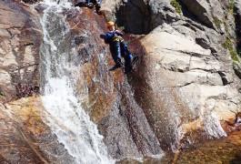 Canyon Du Rec Grand à Mons La Trivalle Dans Le Massif Du Caroux Vers Béziers