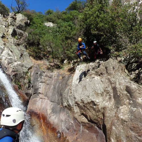 Canyon Du Rec Grand Et Saut En Canyoning