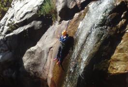Canyon Du Rec Grand Et Son Toboggan Dans L'Hérault