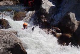 Toboggan Au Canyon Du Soucy Près D'Anduze Et Alès Dans Le Gard