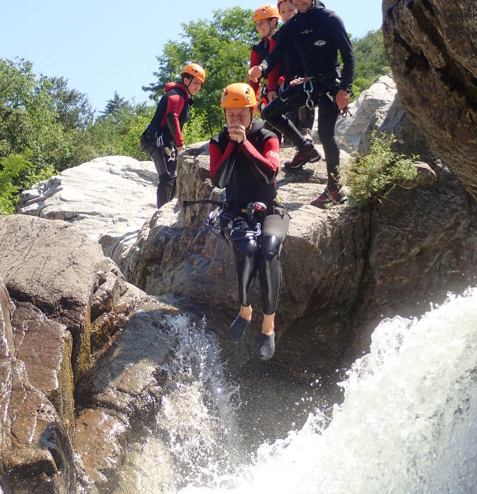 Canyon Du Soucy Entre Anduze Et Nîmes Dans Le Gard