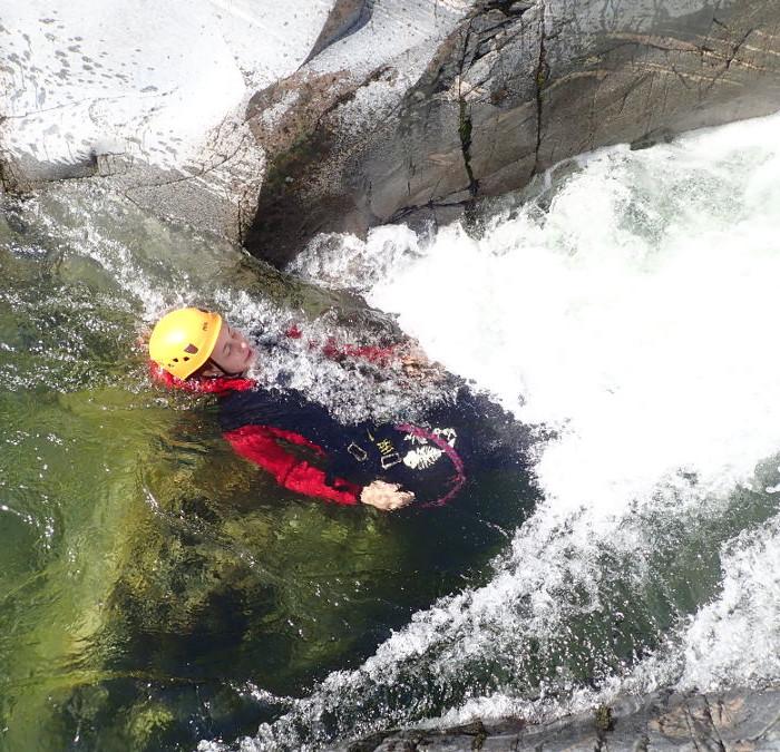 Canyoning Près D'Anduze Et Alès à Saint-Jean Du Gard Au Canyon Du Soucy