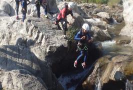 Canyoning Près D'Alès Et Anduze Dans Le Gard Au Canyon Du Soucy