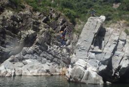 Canyoning Près Du Soucy à Anduze Dans Le Gard
