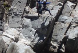 Canyoning Près D'Alès Et Saint-Jean Du Gard Au Canyon Du Soucy Proche D'Anduze
