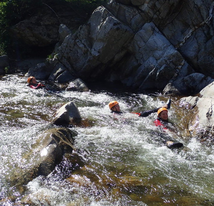 Canyoning Vers Anduze Et Nîmes Dans Le Gard Au Canyon Du Soucy