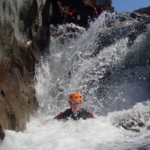 Canyoning Proche D'Anduze Au Canyon Du Soucy Dans Le Gard