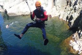 Canyoning Proche D'Anduze Et Alès Dans Le Gard