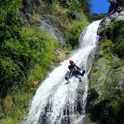 Canyoning Dans Le Canyon De L'Albès Au Caroux En Languedoc