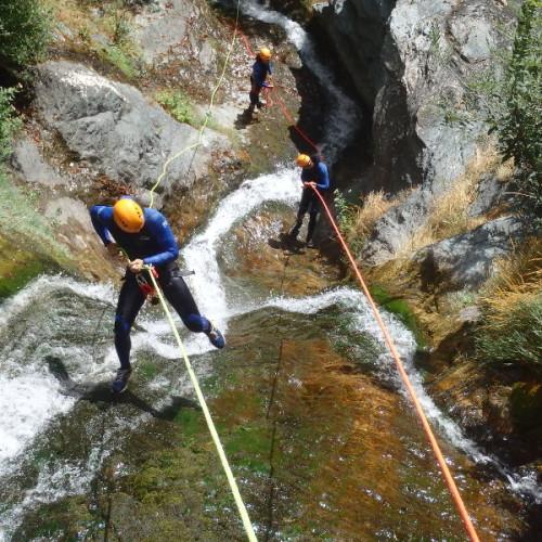 Canyoning Au Caroux Et Descenete En Rappel Dans Le Canyon De L'Albès