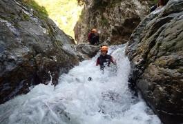 Canyoning Dans Le Caroux Au Rec Grand Dans L'Hérault Vers Béziers