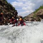 Canyon Du Diable Dans L'Hérault Près De Montpellier Et Saint-Guilhem Le Désert