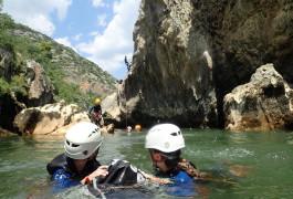 Canyon Du Diable Près De Montpellier Et Saint-Guilhem Le Désert Dans Les Gorges De L'Hérault