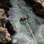 Canyoning Au Daible Te Sa Tyrolienne Près De Montpellier Dans Les Gorges De L'Hérault