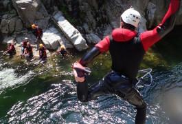 Canyoning Dans Le Gard Près De Nîmes Et Anduze Au Soucy