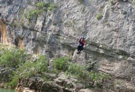 Canyoning Dans L'Hérault Au Canyon Du Ravin Des Arcs