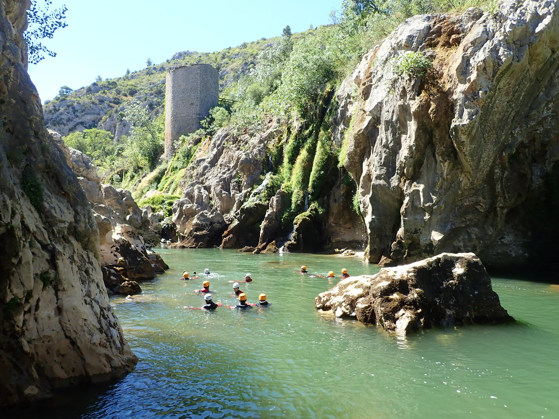 canyoning-herault-diable-montpellier-guilhem
