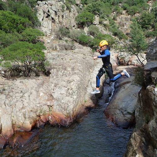 Canyoning Dans L'Hérault Près De Montpellier Au Rec Grand