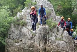 Canyoning Et Saut Dans L'Hérault Près De Montpellier Au Ravin Des Arcs