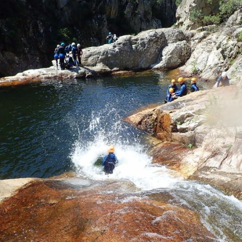 Canyoning Dans Le Rec Grand à Mons La Trivalle Dans L'Hérault