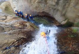 Canyoning Et Rappel à Mons La Trivalle Près De Béziers