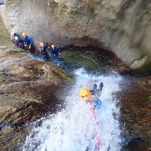 Canyoning à Mons La Trivalle Et Son Rappel