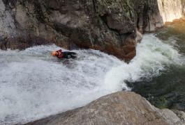 Canyoning Près De Béziers Et Mons La Trivalle Et Son Toboggan De 8 Mètres
