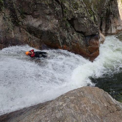 Canyoning Près De Mons La Trivalle Et Son Toboggan De 8 Mètres