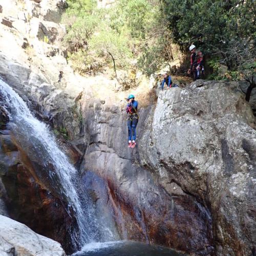 Canyoning à Mons La Trivalle Dans Le Canyon Du Rec Grand