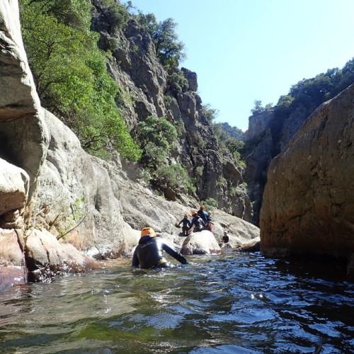 Canyonng à Mons La Trivalle Dans Le Canyon Du Rec Grand, Dans L'Hérault