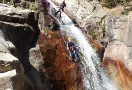 Canyoning à Béziers Et Mons Trivalle Au Canyon Du Rec Grand Et Ses Nombreux Toboggans