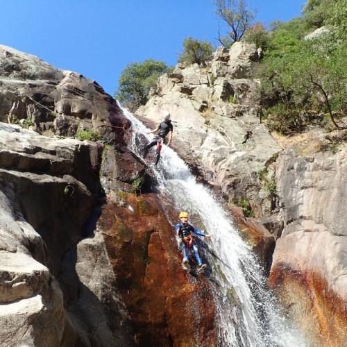 Canyoning à Mons Trivalle Au Canyon Du Rec Grand Et Ses Nombreux Toboggans