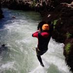 Canyoning Près De Montpellier Et Saint-Guilhem Le Désert Dans L'Hérault En Occitanie