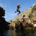 Canyoning Au Diable Près De Montpellier Dans L'Hérault En Languedoc-Roussillon