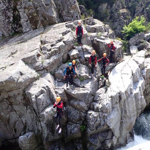Canyoning Dans Le Gard Au Soucy, Près De Nîmes Et Anduze