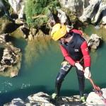 Canyoning Et Gros Rappel Près De Montpellier Dans L'Hérault En Occitanie
