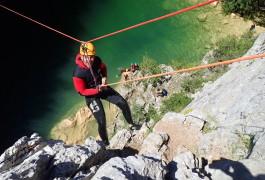 Canyoning Au Ravin Des Arcs Près De Montpellier Dans L'Hérault
