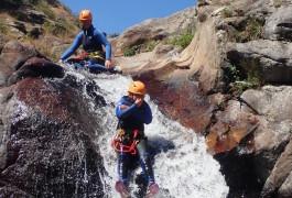 Canyoning Au Rec Grand Près De Mons La Trivalle Dans L'Hérault