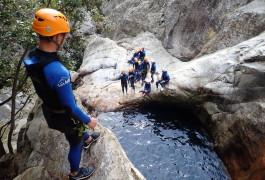 Canyoning Et Saut Dans Le Canyon Du Rec Grand Entre Béziers Et Montpellier