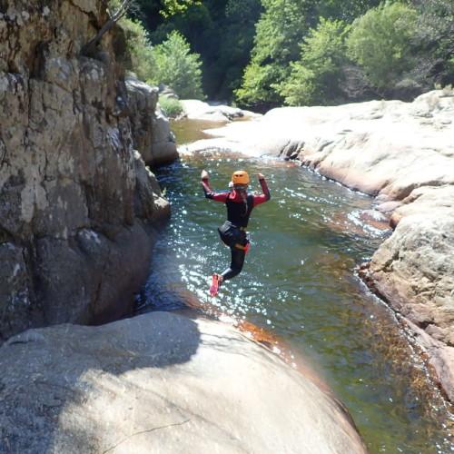 Canyoning Au Canyon Du Rec Grand Près De Mons La Trivalle