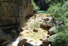 Canyon Du Ravin Des Arcs Dans L'Hérault, Près De Montpellier