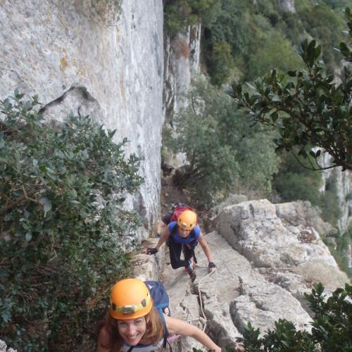 Randonnée-rappel Près De Montpellier Au Pic Saint-Loup