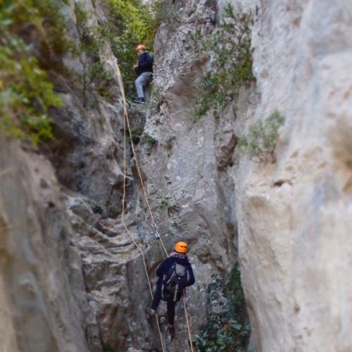 Randonnée-rappel Dans L'Hérault Au Verdus Près De Saint-Guilhem Le Désert