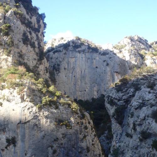 Randonnée-rappel Au Canyon Du Verdus Dans L'Hérault
