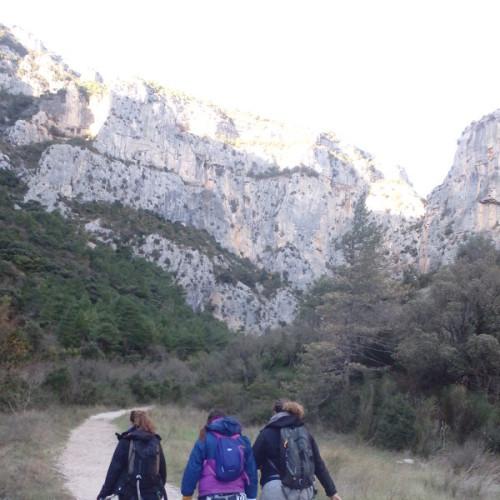 Randonnée-rappel Au Verdus Dans L'Hérault Pour Une Aventure Verticale